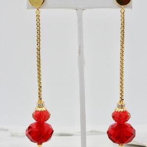 Swarovski Crystal & Rhinestone Earrings